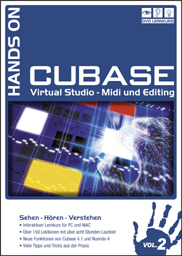 Hands On Cubase Volume 2 Neuauflage