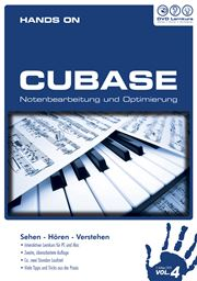 DVD Lernkurs Hands On Cubase Volume 4